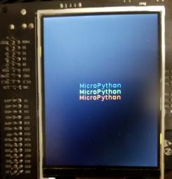 ESP32-WROVER-KIT v3 -- TFT demo: backlight only thing visible